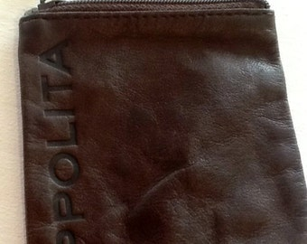 Ippolita coin purse in brown leather