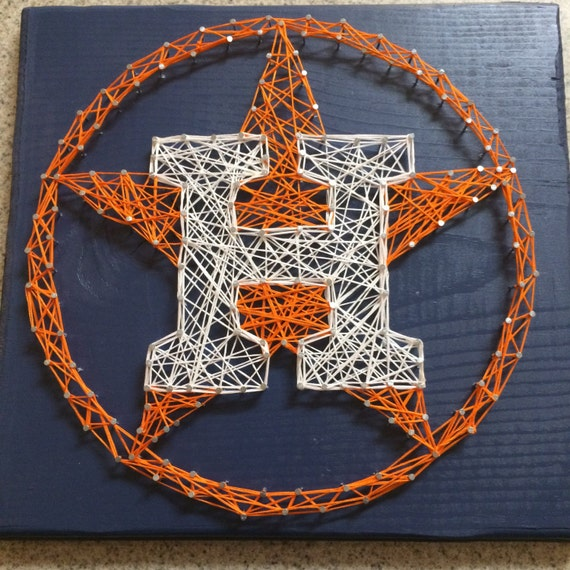 Man Cave String Art : Made to order houston astros string art