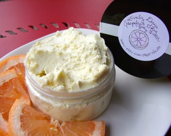 Lively Days: Grapefruit Shea Body Butter