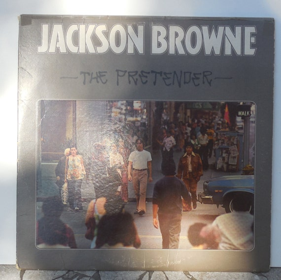 Vintage Record Jackson Browne Late For The Sky By