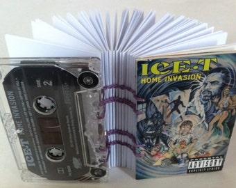 "Ice-T ""Home Invasion"" album - Cassette Tape Notebook"