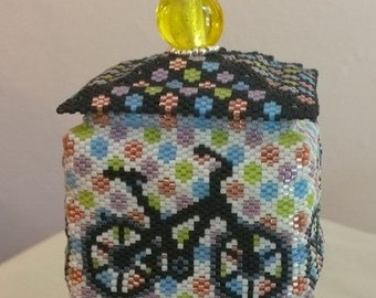 Bicycle Beaded Box
