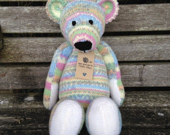 Benjamin Bear (Hand Knitted)