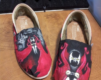 Toms Shoes Customized Spawn