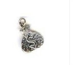 Silver Camp Fire Girls CANDY SALES Vintage Charm Money Bag