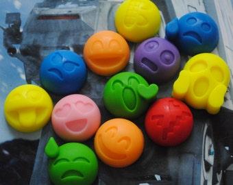 12 x Emoticon Soaps!