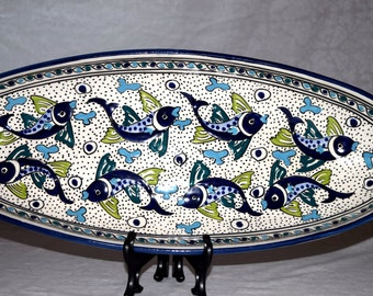 X-large oval plate
