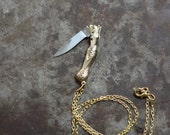 Mermaid Pocket Knife Necklace