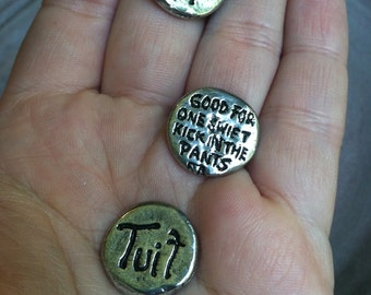 A Round Tuit - One Hand Cast Token