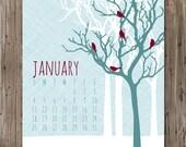 2015 Wall Calendar / Flora & Fauna