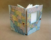 USA Versatile Travel Journal Handmade for You