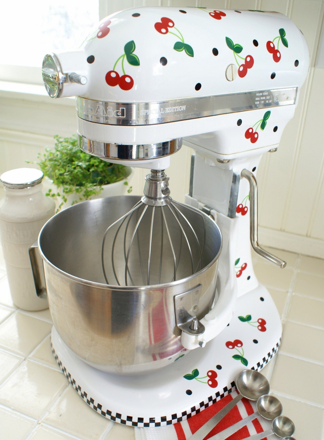 Cheery Cherry Kitchenaid Decals