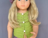 RAINBOW RAYS American Girl 18 inch doll 3 pc set crochet pattern (V7)