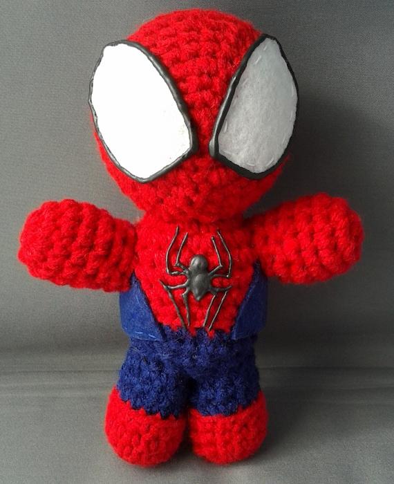 Spiderman Amigurumi Plush Doll by LLsCreations83 on Etsy