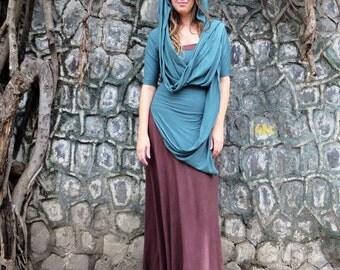 ORGANIC Sari Kerela Shirt (light hemp and organic cotton knit) - organic infinity shirt