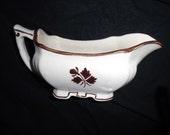 Alfred Meakin Tea Leaf Ironstone Gravy