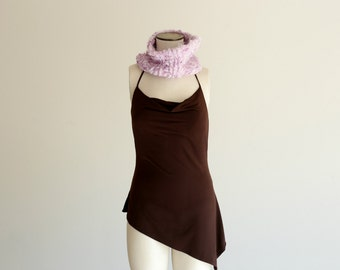 Lavender Scarf Purple Cowl Womens Cowl Lavender Infinity Scarf Infinity Knit Scarf