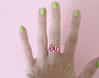 Rad Statement Adjustable Ring