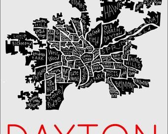 Dayton Neighborhood Print