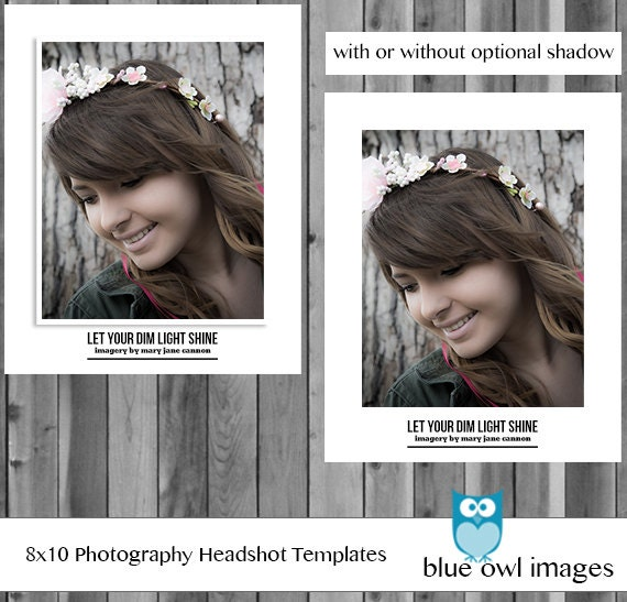 Instant download photoshop layered customizable photography instant download photoshop layered customizable photography headshot head shot professional template 8x10 and 10x8 portrait landscape psd pronofoot35fo Gallery