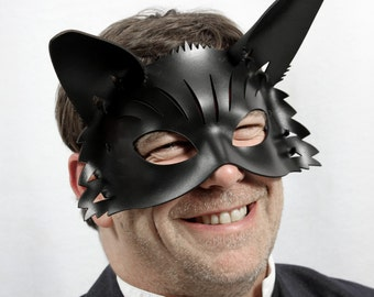 Wolf Leather Mask