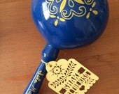 """Laser Cut Tags (150 tags) for Maracas or Party Favors """"Shake at the Kiss"""" """"Shake for a Kiss"""" """"Thank You"""" """"Amor"""""""