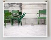 SALE! Paris Photography, Listening In Paris Print, Large Art Print Fine Art Photography