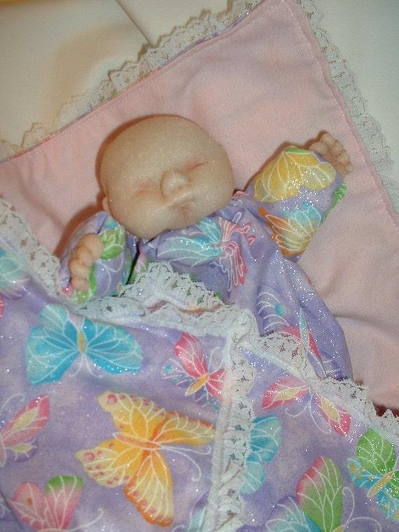 Soft Sculpture Baby Doll Hand Puppet