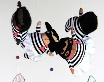Jewel Heist ---  Baby Mobile --- Made to Order ---  Modern Nursery