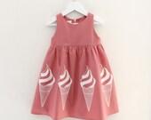 Girl's Ice Cream Dress