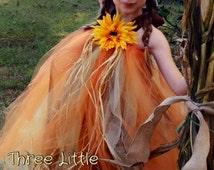 Scarecrow Tutu Dress - Scarecrow Costume - Scarecrow Dress