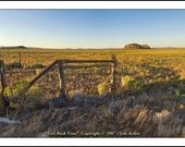 FORT ROCK PANORAMA, Central Oregon, Outback, Clyde Keller Photo, large 16x20 inch Fine Art Print, Color, Signed, wide-field, arhchival print