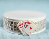 Taking a Gamble Las Vegas Wedding Cake Topper Base - 15200
