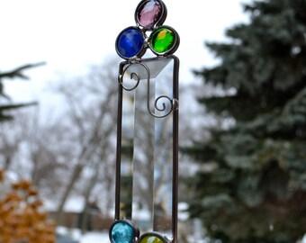 Emily's Rainbow Stained Glass Suncatcher