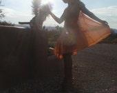 Orange Fairy Swing Dress