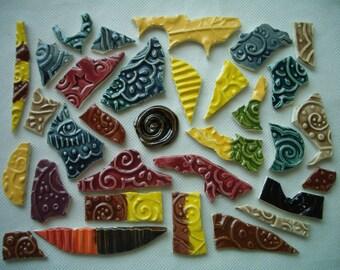 SALE PRICE - 32VN - Cool GRAFFITI Tiles - Ceramic Mosaic Tiles