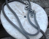 3mm  gunmetal mesh chain
