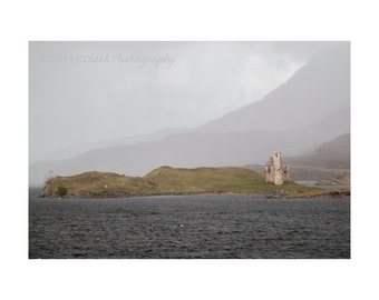 Castle of Dreams Scottish Landscape Fine Art Photography Romantic Home Decor Large wall art Outlander dreams Scotland Loch Highland vew Love