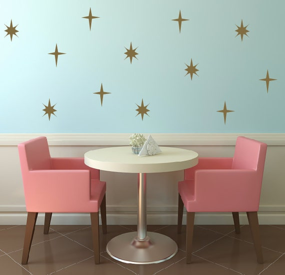 Sparkle Wall Decals Star Wall Decals Sparkle By