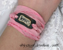 popular items for silk wrap bracelet on etsy