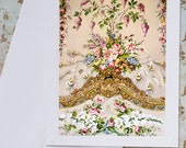 Paris Photography Notecard - Versailles Tapestry, Note Card, Stationery, Blank Notecard