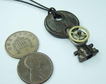 Post Apocalyptic Key Necklace