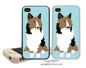 Sheltie iphone case, Shetland Sheepdog Phone Cover, Dog iphone Case, iphone 6 Case, iphone 4 Case, iphone 5c Case, Dog iphone 5 Case