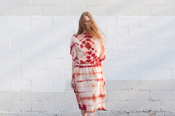 Kimono Top in Madder Silk