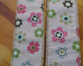 Cloth Diaper Inserts- Size SMALL- Spring Blossoms