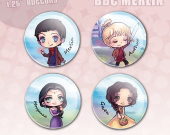 Merlin Button Set