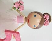 Custom Girls Birthday Cake Topper - Tutu Fairy, Princess or Ballerina - Made to Order