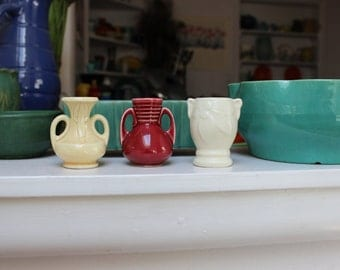 One Miniature USA Shawnee Vase Pottery 1940s Pick one VINTAGE by Plantdreaming