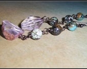 Quartz Earrings, Crystal ...