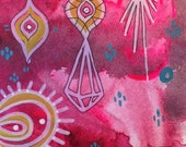 Tikal Original Painting...